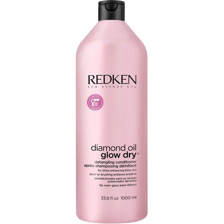 Redken Glow Dry Detangling Conditioner ~ Detangle Blow-Dry Addicted Hair
