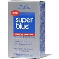 Loreal Super Blue Cream Oil Lightener
