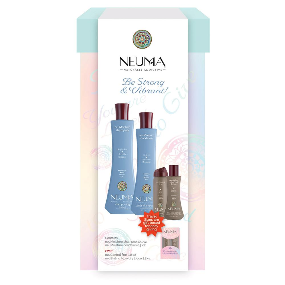 Neuma Be Strong & Vibrant Moisturizing Hair Care Gift Set  SALE-SAVE 28%