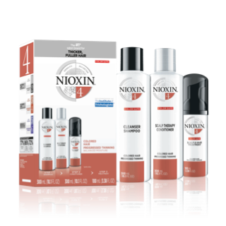 Nioxin 3-Part System #4 Hair System Kit ~ for colored hair with progressed thinning