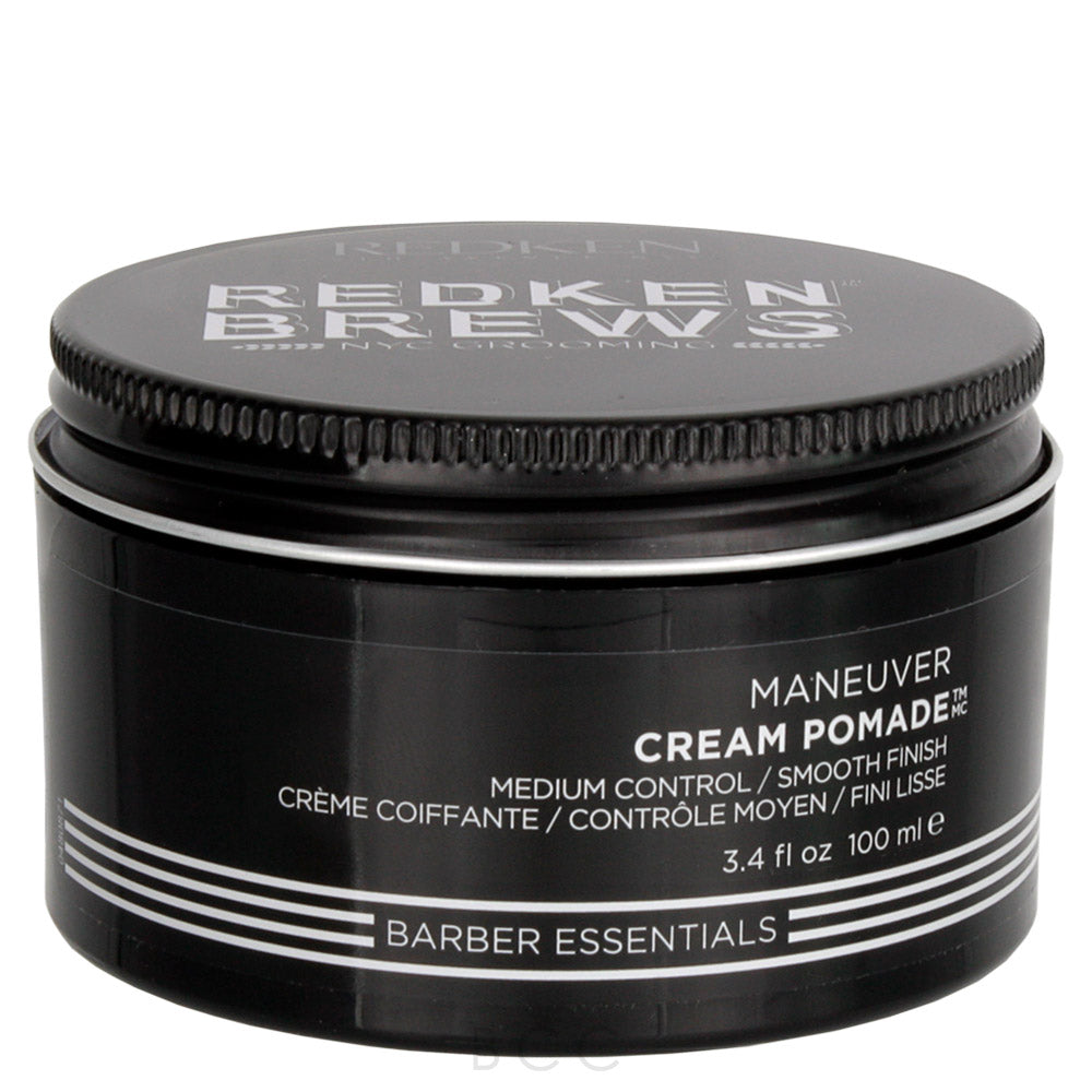 Redken Brews Maneuver Cream Pomade ~ Water Based Pomade for Men
