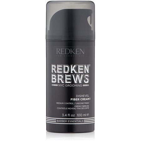 Redken Brews Dishevel Fiber Cream ~ Medium Hold Hair Cream for Men