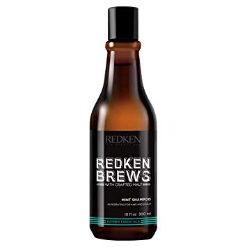 Redken Brews Mint Shampoo ~ Cooling Shampoo for All Hair & Scalp