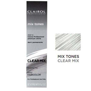 Clairol Professional Soy4Plex Creme Demi Permanente Hair Color Mix Tones Clear