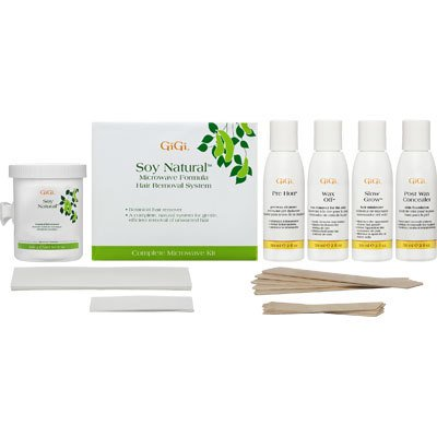 GiGi Microwave Kit Soy Natural Honee Complete