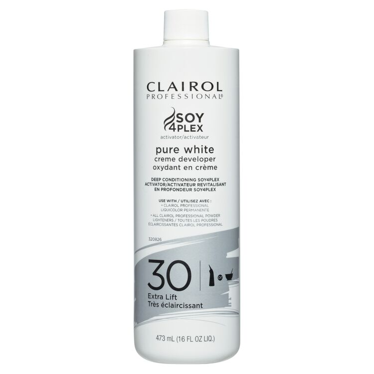 Clairol Professional Soy4Plex Pure White Cream 30 Volume Peroxide Pints
