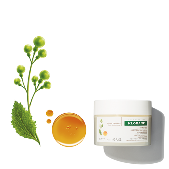 Klorane Ultra Nourishing Mask with Abyssinia Oil  for Very Dry, Coarse, Curly, Brittle Hair