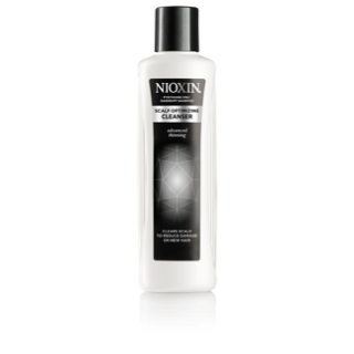 Nioxin Scalp Optimizing Cleanser ~ Clears the scalp to reduce surface damage on new hair