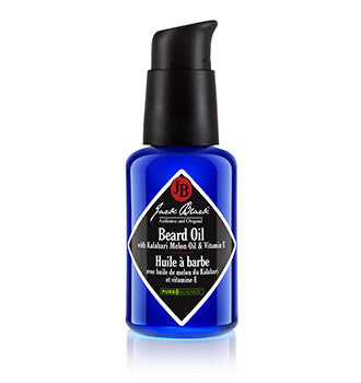 Jack Black Beard Oil with Kalahari Melon Oil and Vitamin E