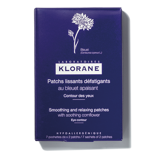 Klorane Soothing and Relaxing Eye Patches With Soothing Cornflower