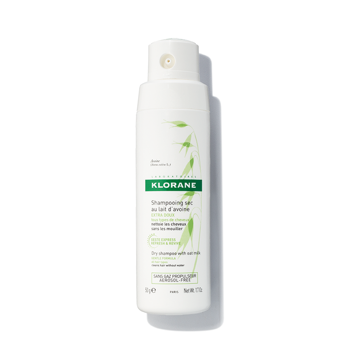 Klorane Dry Shampoo With Oat Milk Non-Aerosol Eliminates Excess Oils Adds Volume