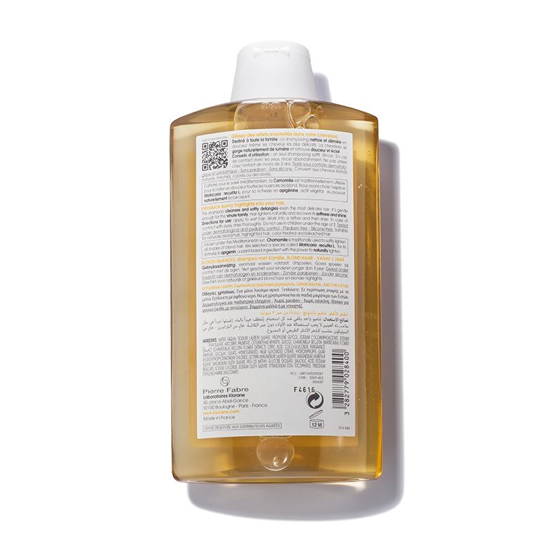 Klorane Shampoo With Camomile Repairs and Brightens Blonde Hair