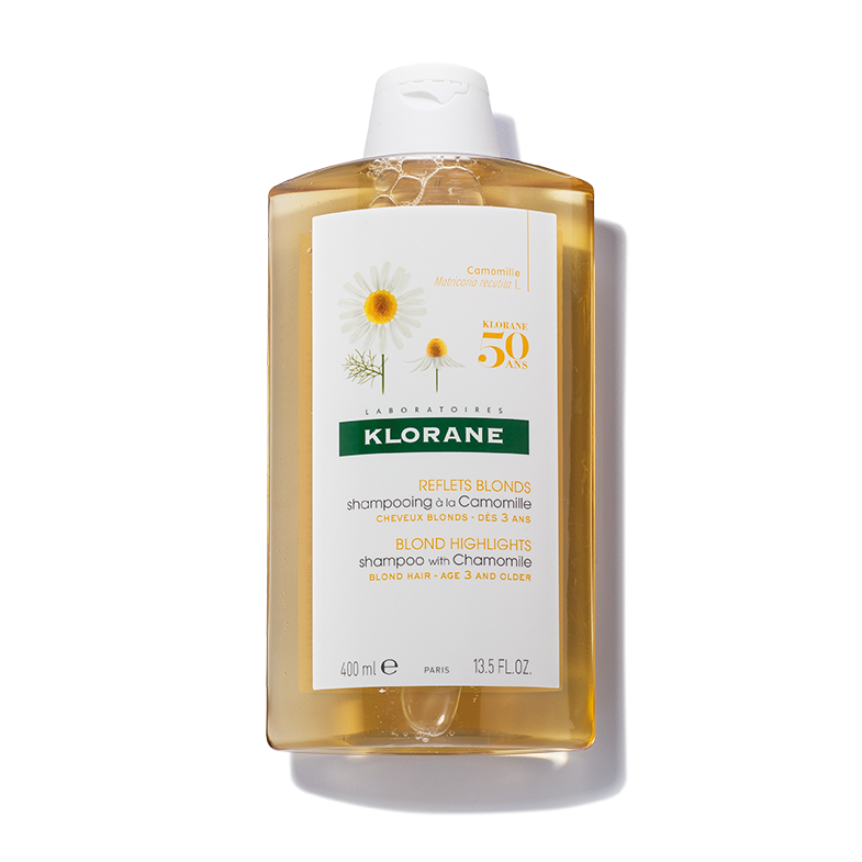 Klorane Blonde Highlights Shampoo With Camomile Repairs and Brightens Blonde Hair