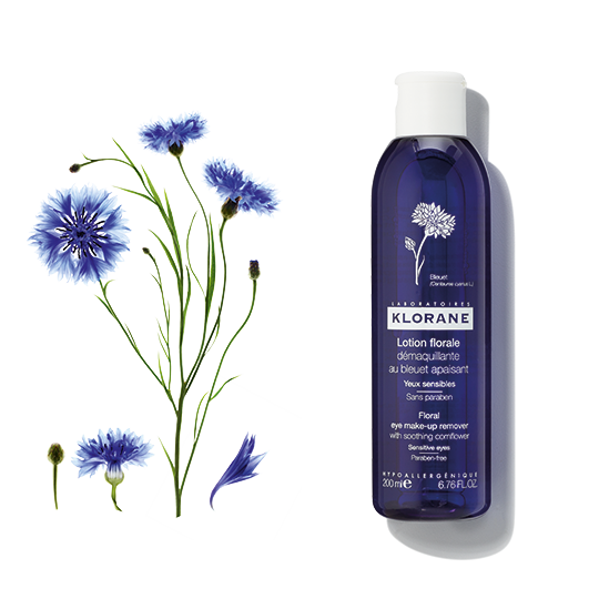 Klorane Floral Lotion Eye Make-Up Remover With Soothing Cornflower