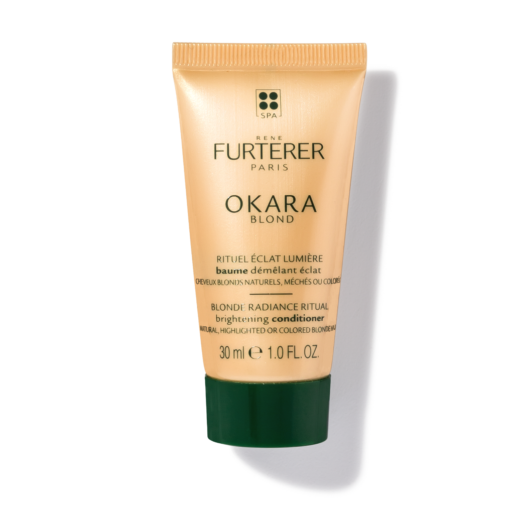Rene Furterer Okara Blond Brightening Conditioner (2-Sizes) for natural, highlighted or bleached blonde hair