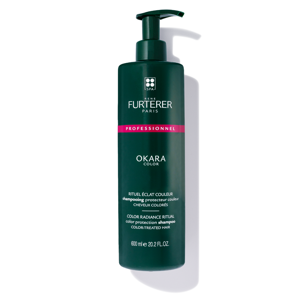 Rene Furterer Okara Radiance Enhancing Shampoo (3-Sizes) for color-treated hair