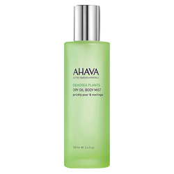 Ahava Dry Oil Body Mist Prickly Pear and Moringa