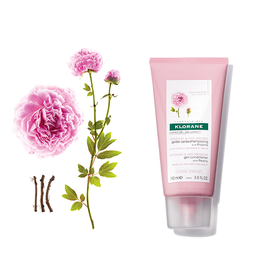 Klorane Smoothing and Anti-Irritating Conditioner With Peony Soothes and Calms Sensitive Scalps