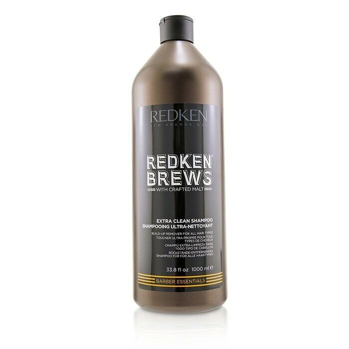 Redken Brews Extra Clean Shampoo ~ Men's Shampoo for Oily Hair