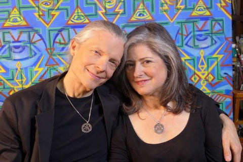 Falling and Staying in Love: Alex Grey and Allyson Grey