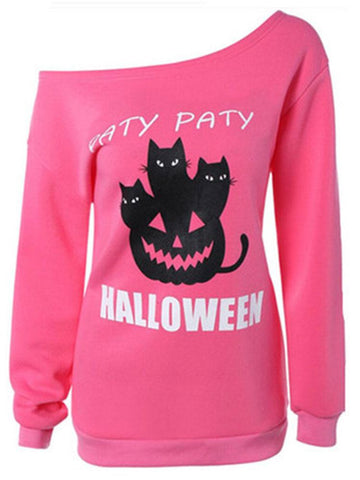 Halloween Party Pumpkin Sweatshirt
