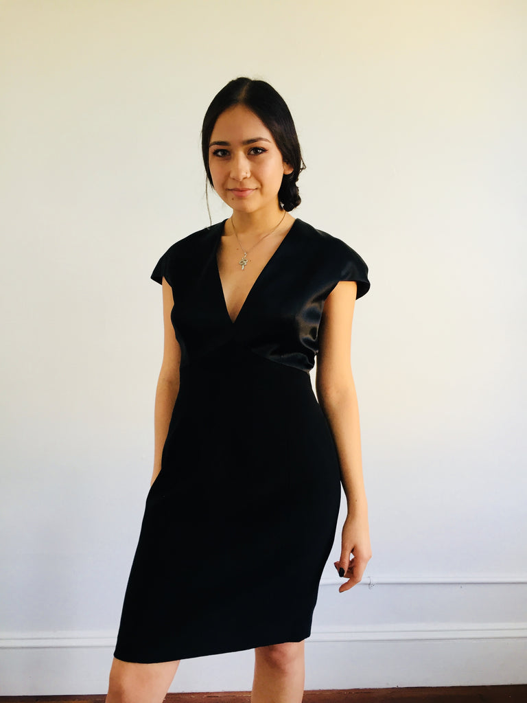 Tahari | Black Dress