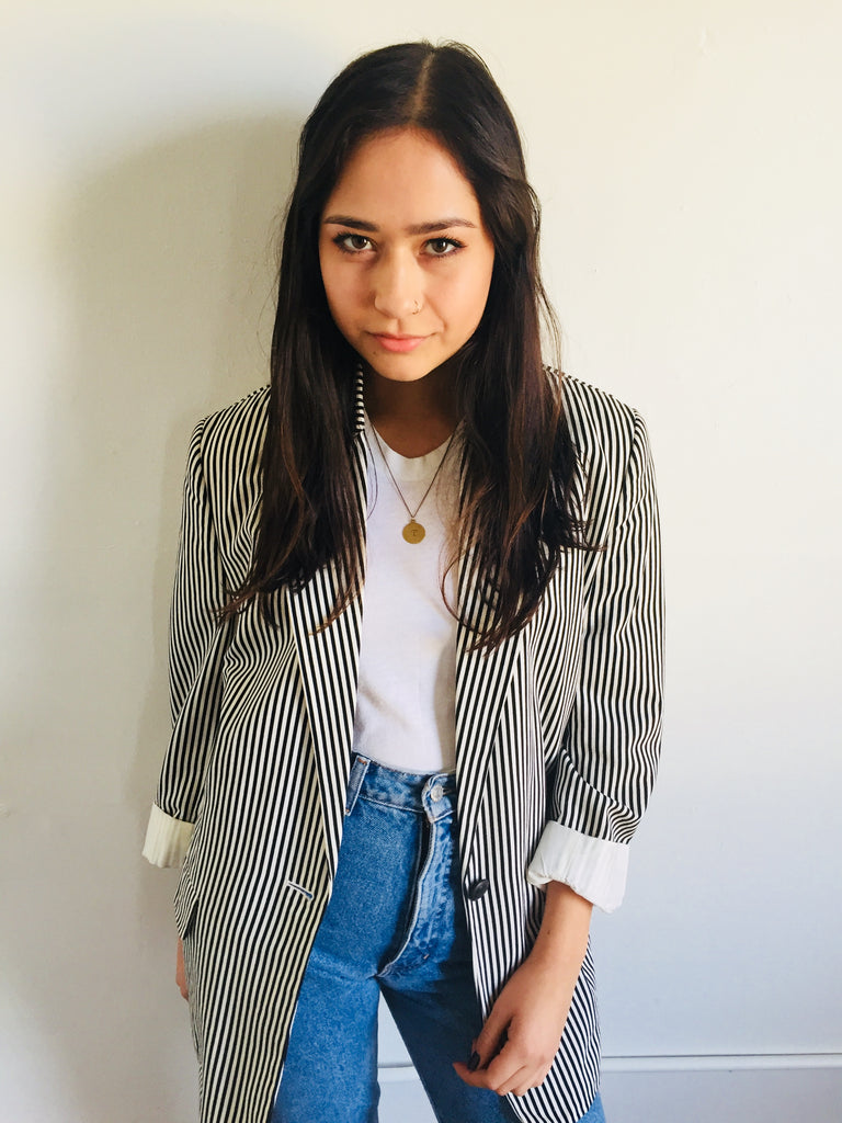 Ann Taylor| Striped Blazer