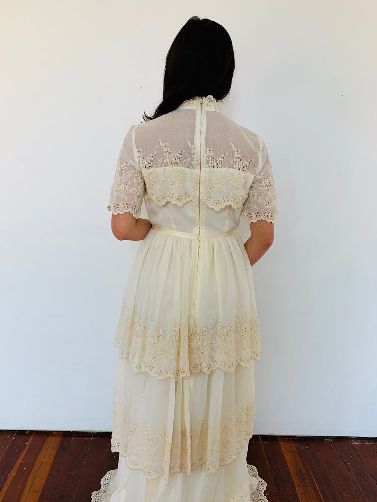 Beautiful Southern Feel Tiered Full Length Dress
