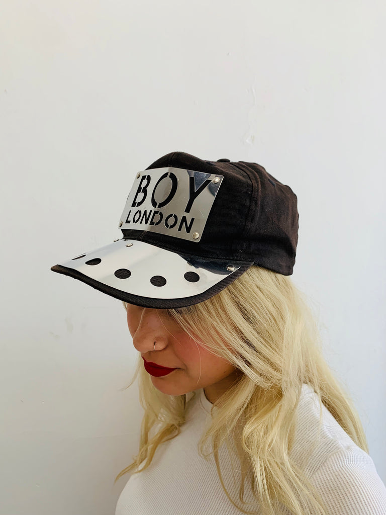 Vintage Boy London Metal Cap