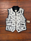 Hand-Painted Leather Vest