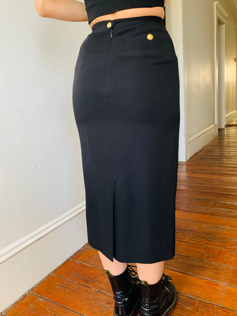 Gucci Midi Pencil Skirt