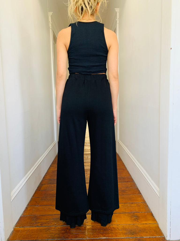 Dolce & Gabbana Knit Wide-Leg Pants