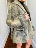 Vintage Persian Lamb Short Swing Coat