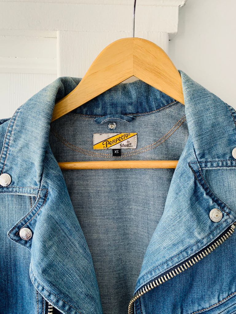 Perfecto by Schott Denim Moto