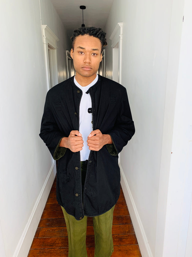 Over-Dyed Reversible Liner Jacket