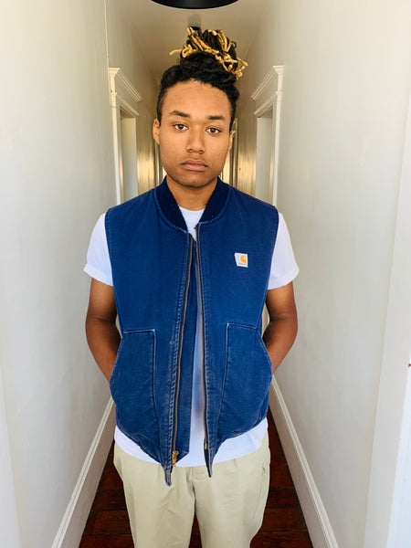 Carhartt Union-Made Blue Vest