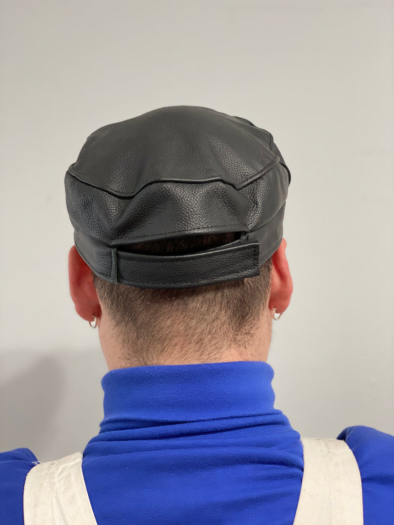 Leather Daddy Cap