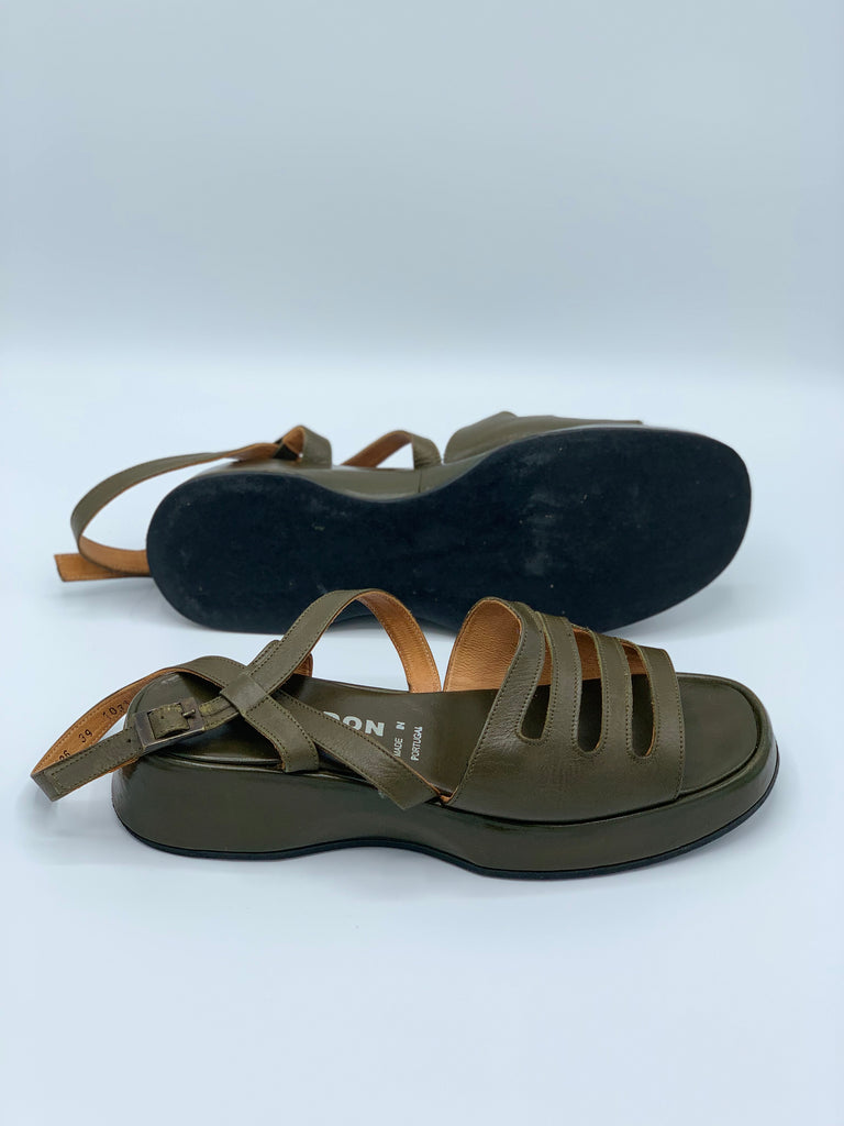 "Olive ""Giraudon"" New York Sandals"