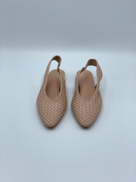 Everlane The Woven V Slingbacks Flats
