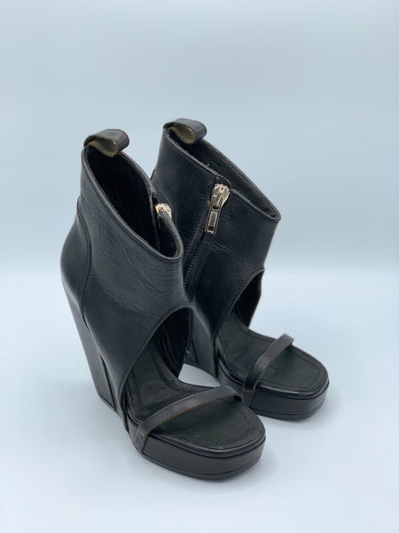 Rick Owens Wedge Glove Sandal