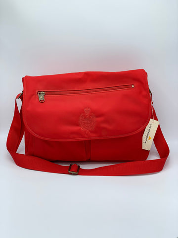Vintage Red Liz Claiborne Crossbody