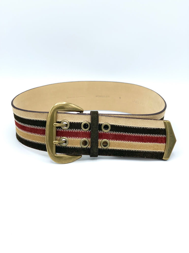 Saks 5th Ave Suede Multicolor Belt