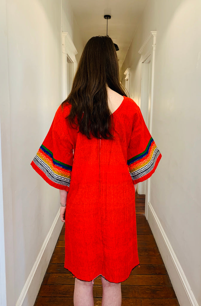 GUATEMALAN EMBROIDERED DRESS