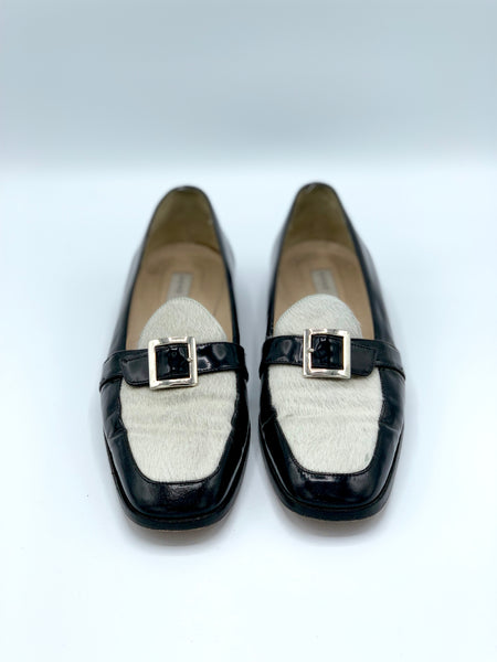 Anne Klein Two-Tone Loafers