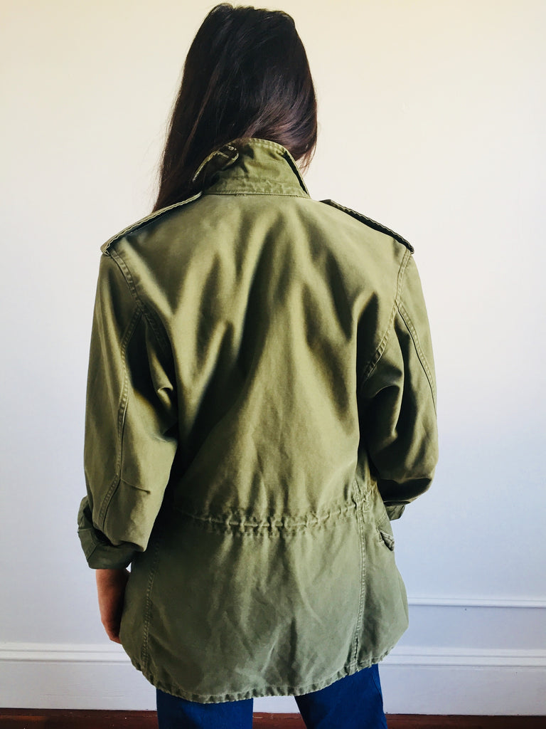 Olive Green Army Jacket