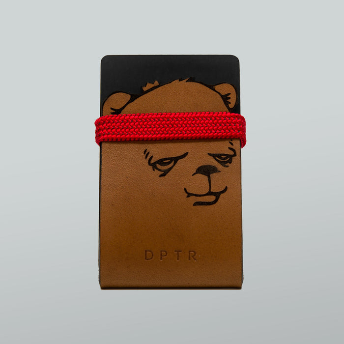 BEAR CHAMP . CHAMPSHELL WALLET