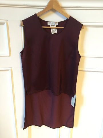 Top Stella McCartney bordeaux T.38 NEUF