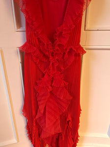 Robe Givenchy rouge T.36