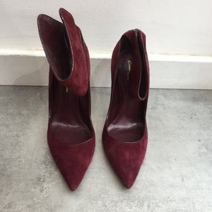 Escarpins Gianvito Rossi bordeaux T.37
