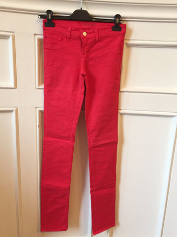 Jeans J Brand Rouge T.25